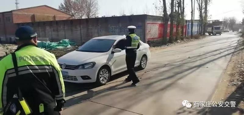 石家庄:酒驾遇查,驾车就往派出所里钻!
