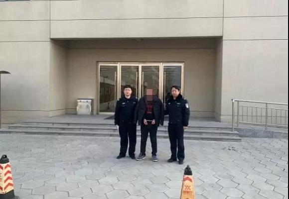 石家庄:新年第一拘送给了他